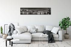 Ultra Panoramic Canvas Print - 98x21 inches (249x53cm) / Mirror Edge