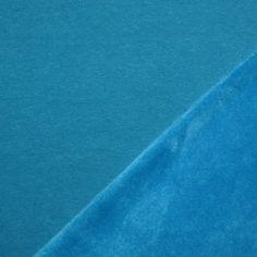 Alpenfleece Sweatshirt Stof Aqua