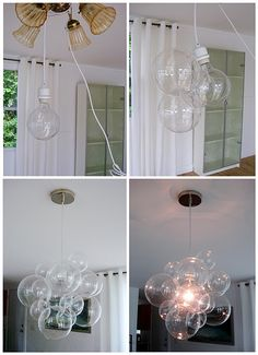 DIY glass fixture