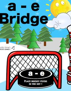 Hockey Bridges from Solo Time Music Games on TeachersNotebook.com -  (6 pages)  - As students learn the bridges for the a minor scale this teaching aid helps them identify the bridges on the staff and on the keyboard hockey pucks. Minor Scale, Hockey Puck, Classroom Setting, Music Class, Music Games, Teaching Music, Piano Lessons, Student Learning, Bridges