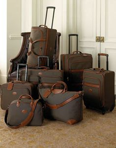 Boxford Luggage by Longchamp at Neiman Marcus. Best Carry On Luggage, Cute Luggage, Kids Luggage, Luggage Sets, Travel Luggage, Longchamp, My Bags, Purses And Bags, Travel Bags For Women