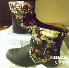 01559d0058f Daryl Dixon Norman Reedus boots These are seriously ugly but I need them!  Norman · Norman The Walking ...