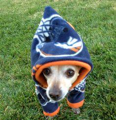Denver Broncos NFL Dog Hoodie