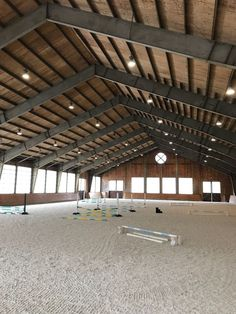 The most important role of equestrian clothing is for security Although horses can be trained they can be unforeseeable when provoked. Riders are susceptible while riding and handling horses, espec… Barn Stalls, Horse Stalls, Dream Stables, Dream Barn, Mexican Hacienda, Horse Barn Designs, Horse Arena, Horse Barn Plans, Indoor Arena