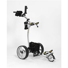 """Bat-Caddy X4R - Remote Control Golf Cart  This Bat-Caddy® X4R Golf Trolley is a very light-weight, state-of-the-art Remote Controlled Electric Golf Cart. It helps provide that """"Pro Golfer Experience"""" of walking while an """"electric caddy"""" totes your clubs."""