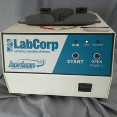 LabCorp Horizon Mini E Centrifuge 642E 6-Place Fixed Angle Rotor WORKS See Video