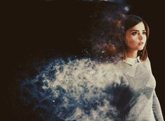 """She'll blow away like smoke"""
