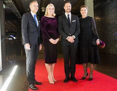 Royals & Fashion - In the evening, the couple attended the dinner offered in honor of the conference.