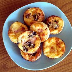 Mini Quiche recipe - great for school lunch boxes!