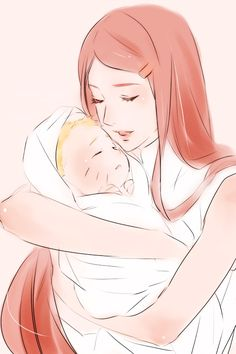 little naruto and Kushina :)