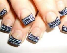 Beautiful Nail Designs 2013- Fan nails