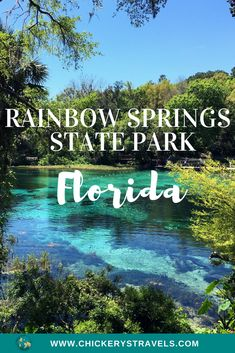 Visit Rainbow Springs State Park and Campground in Dunnellon Florida. Rainbow Springs State Park is home to a group of freshwater springs that provide the perfect location for swimming, paddling, kayaking, camping, and more! Clearwater Florida, Florida Keys, Orlando Florida, Florida Springs, Visit Florida, Florida Beaches, Sarasota Florida, Crystal Springs Florida, Kissimmee Florida