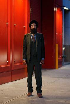 one of the most stylish men around: Waris Ahluwalia
