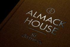 dn&co. | Almack House #design #graphic #branding #editorial #brochure