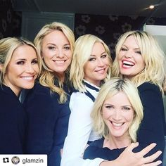 Five non-blondes @lisafaulknercooks @heidirange @glamzin @vanouten_denise @tbseen X #swarovski