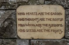 Botanic Gardens - Kind Hearts Are In The Garden, Kind Thoughts Are ...