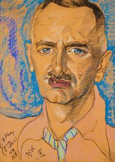 Portret Mieczys Awa Gajewicza 1936 Wood Print by Witkiewicz Stanislaw Ignacy Harlem Renaissance, Paul Gauguin, Caravaggio, Images D'art, Art Deco, Magic Realism, Art Database, Oil Painting Reproductions, Portraits