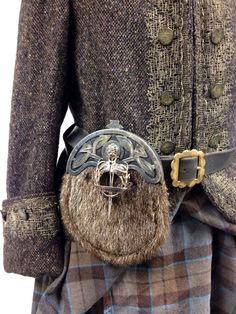 Close up of Colum's outfit from The Gathering.