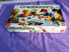 LEGO Creationary 3844 Building Board Family Game INCOMPLETE FOR PARTS ONLY #LEGO