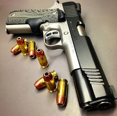 Pistol, bullets, guns, weapons, self defense, protection, 2nd amendment, America, firearms, munitions #guns #weapons