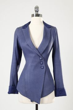 Inspiration only Blue Vintage Blazer