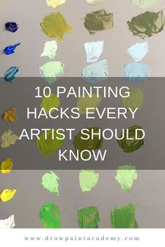 10 Painting Hacks Every Artist Should Know. These are perfect for beginner artists looking for some tips to get them started. If you have any painting hacks of your own, please share them in the comments. Acrylic Painting Tips, Oil Painting Techniques, Drawing Techniques, Painting Hacks, Painting Tutorials, Drawing Tips, Contemporary Abstract Art, Wall Art Pictures, Art Oil
