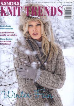 "Photo from album ""Stricktrends № 4 2012 Winter"" on Yandex. Knitting Books, Crochet Books, Lace Knitting, Knitting Stitches, Crochet Round, Knit Crochet, Crochet Hats, Knitting Magazine, Crochet Magazine"
