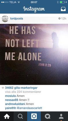 Aldrig ensam