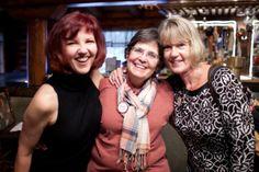 Linnea Duvall, Missi Strub & Laurie Greenawalt at Women At Woodstock East 2013.