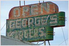 George's Orange Juice Signage - Dixon, CA photo by Joe M
