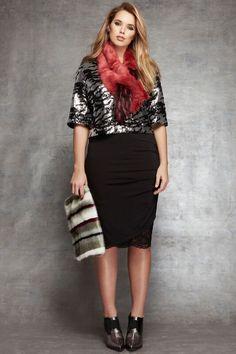 Studio Zebra Sequin Top   Stellar Style Collection   Women's Plus Size Fashion   ELOQUII