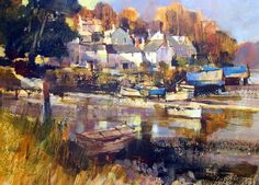 Dart Gallery offers a fresh selection of contemporary British art by established artists at its space in the heart of beautiful Dartmouth, Devon.