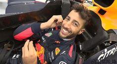 "Polubienia: 221, komentarze: 14 – Daniel Joseph Ricciardo ❤️ (@ricciardo_uk) na Instagramie: ""Happy Danny after today, with P1 in both FP1 and FP2. Last time Red Bull topped both sessions, they…"""