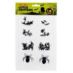 Add some spooky little critters to your Halloween party table and scare your guests! Not suitable for children under 36 months. Choking hazard due to small parts.