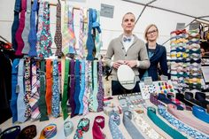 Thanks to all for a nice weekend at Prague's Dyzajn Market! #bowtie #menstyle