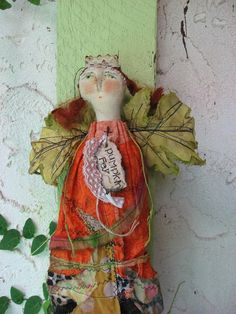 The Pumpkin Fey by Baggaraggs on Etsy,