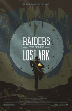 Indiana Jones Raiders Of The Lost Ark Minimalist Movie Poster