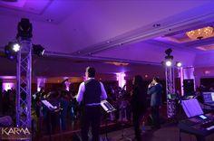 stage lighting band wedding bands