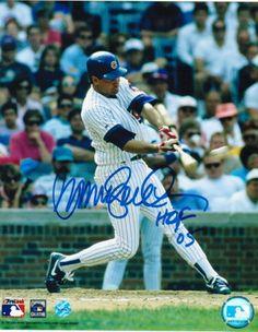 "Ryne Sandberg Chicago Cubs Autographed 8x10 Photo Inscribed """"HOF 05"""""
