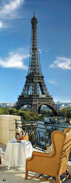 luxe Alfresco - Hotel Shangri La, Paris