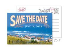 Beach 11 - Luxury Wedding Vintage Postcards - Ceci Ready-to-Order Collection - Ceci Wedding - Ceci New York