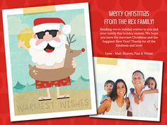 Santa in the Sun - Greeting free custom scrappage or newsletter, you can add music to your card and so many more fun and lovely free printable cards, invites, scrapbooks, and more from smilebox.com! @stampinbythesea and Kimber, This is your Florida Christmas Santa to send!  Send via mail after self printing or via e mail.  Party?  They have free invitations and will let all the RSVPS come to them for free too!  Smilebox.com loves to share Christmas love!