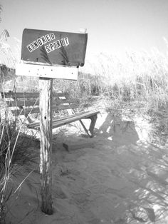The Mailbox! Kindred Spirit in Sunset Beach, NC..we have good friends who we visit there