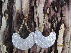 Recycled Earrings Soda Can Earrings Eco Friendly by Soda2Art