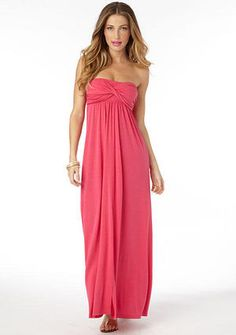 21a404fe01789 Elena Twist Tube Maxi Dress Extended Length - View All Dresses - Dresses -  Clothing - Alloy Apparel