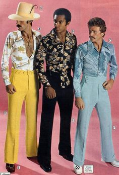 Pimpin Suits ~ 35 Bitchin' 70s Mens Fashions