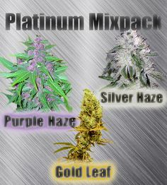 Platinum Mixpack - Marijuana