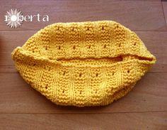 Newborn Props Cocoon Sleep sack Handmade yellow di RobertaKnits