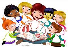 Corte Gaia, il blog: scuola materna- nursery school illustration