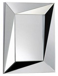"Cyan Design Edgewater Mirror 27.5""(w) x 35.5""(h) x 2.75""(ext)  Clear"
